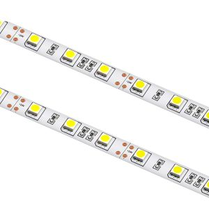 24V Single Colour LED Strip Lights, 60 x 5050SMD, 14.4W