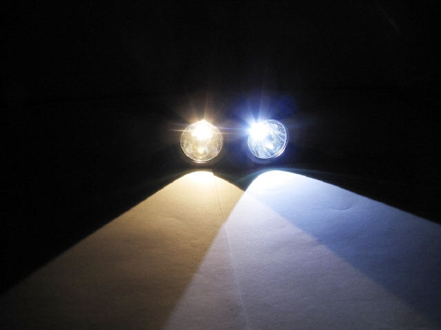 Colour Guide for Wholesale LED Lights - Warm White vs Cool White