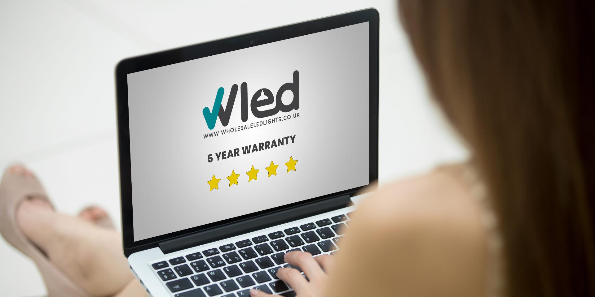 WLED 5 Year Warranty