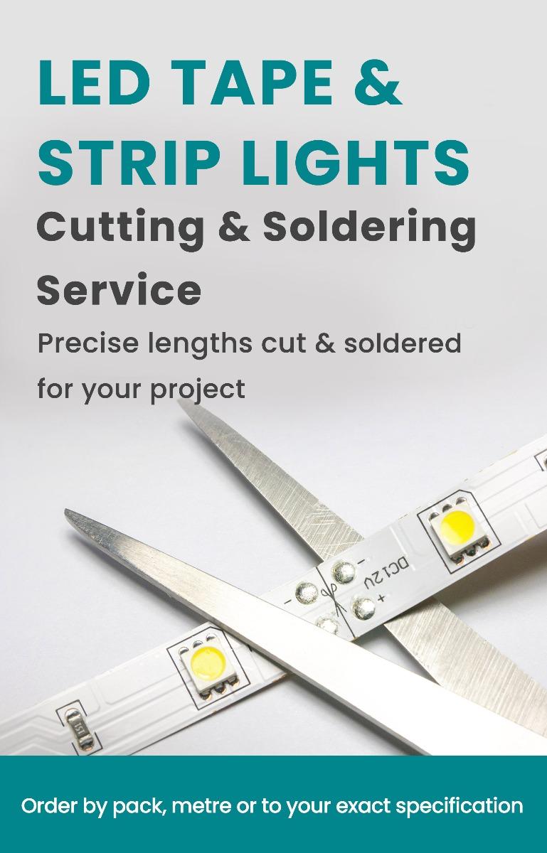 LED Strip & Tape Bespoke Custom Lenghts