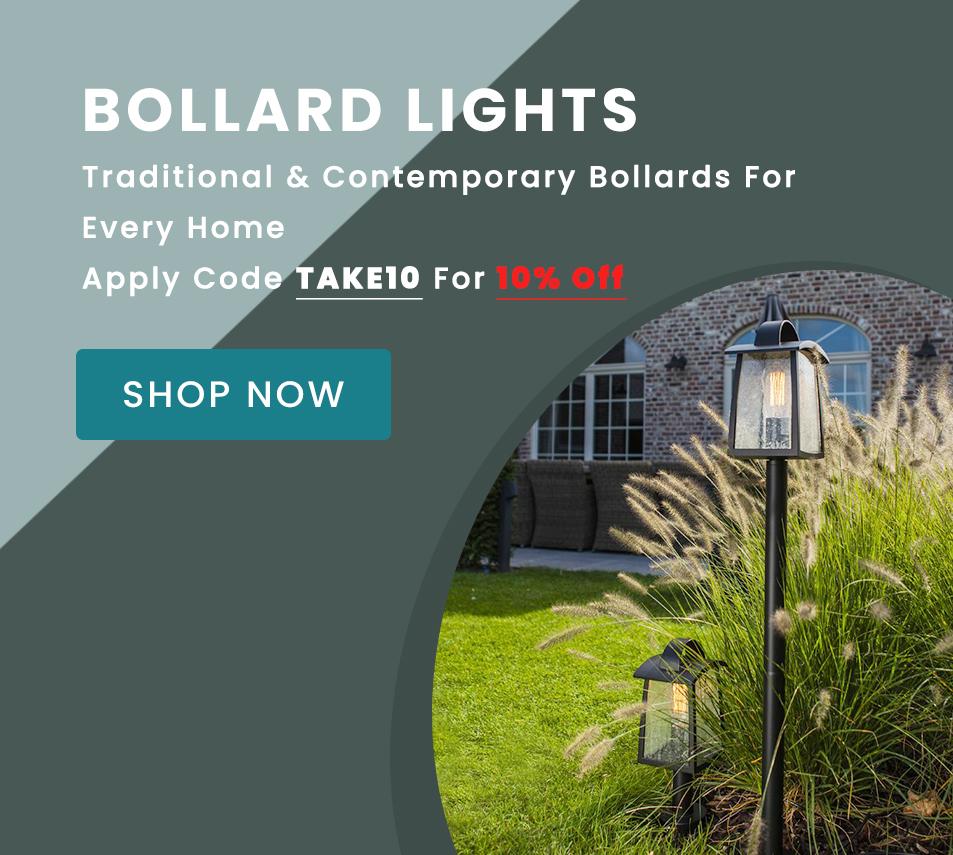10% OFF Bollard Lights