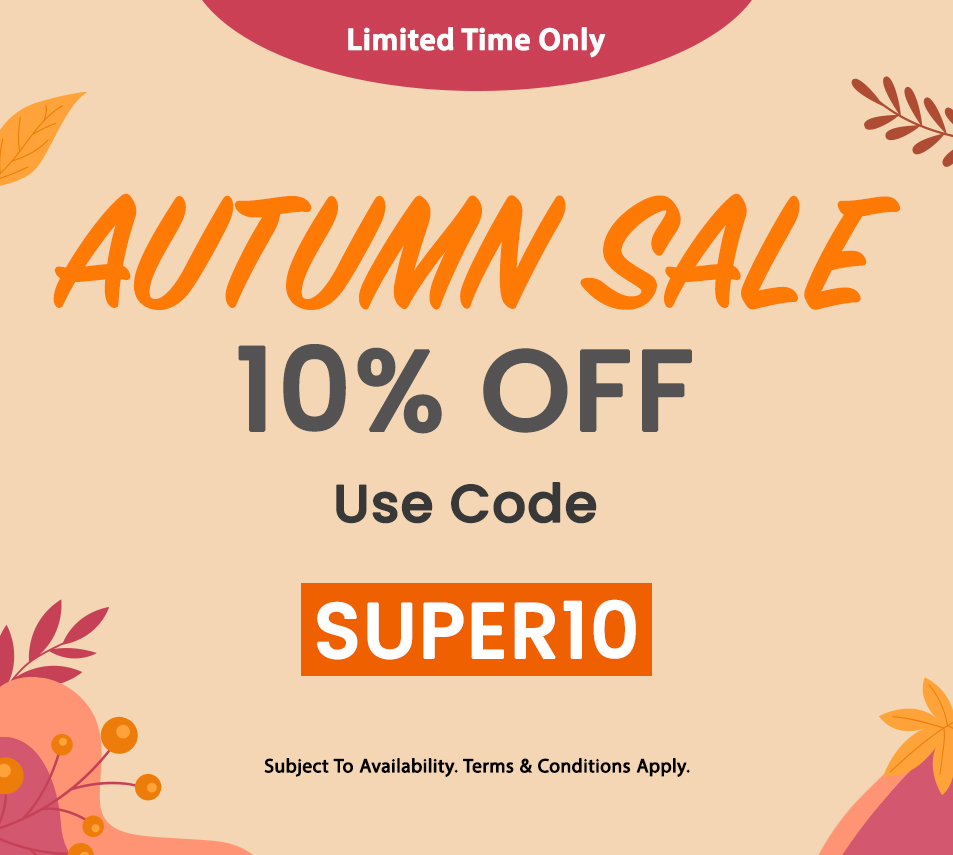 SPECIAL SALE 10% OFF NOW