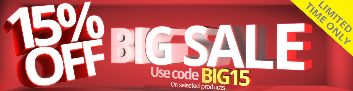 January - Limited Time BIG15 Promo LED Discount Code