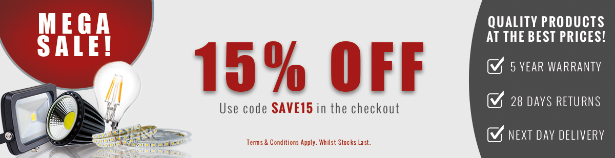 MEGA SALE Discount of 15% off in case you add to your cart SAVE15