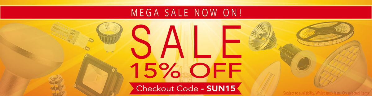 Mega Sale Discount of 15% off in case you add to your cart SUN15