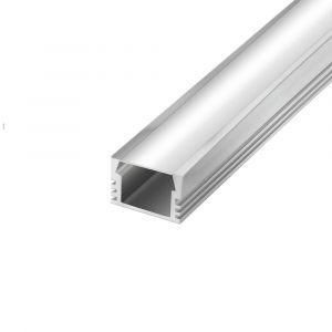 2m Classic Aluminium Profile, Pack of 3
