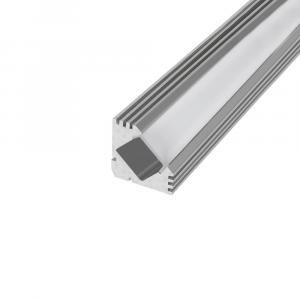 SlimPro 2m 45 Degree Aluminium Profile, Pack of 3