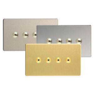 Varilight V-Pro Ir Screwless 4 Gang Master Dimmer / Slave Unit