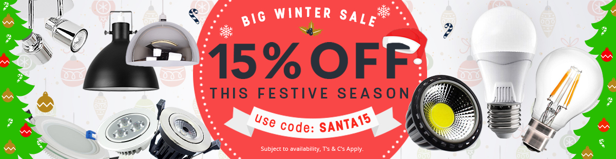 BIG Winter & Christmas Special Discount of 15% off in case you add to cart the code SANTA15