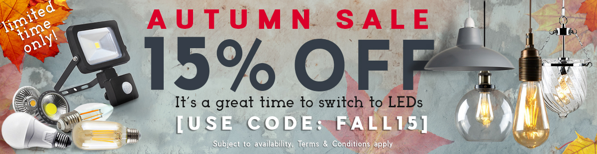 Autumn Special SALE Discount of 15% off in case you add to cart the code FALL15